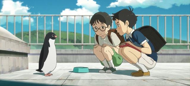 (C)2018 森見登美彦・KADOKAWA/「ペンギン・ハイウェイ」製作委員会