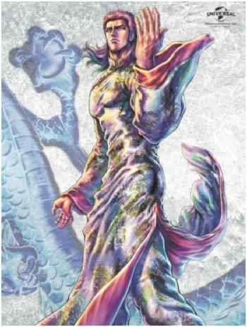 「『蒼天の拳 REGENESIS』Blu-ray2巻」(C)原哲夫・武論尊/NSP 2001, (C)蒼天の拳2018