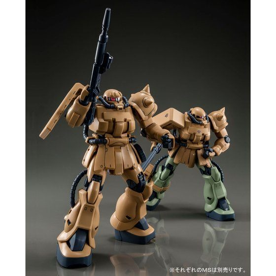 「MG 1/100 MS-06F-2 ザクII F2型 (キンバライト基地仕様)」3,800円(税込)(C)創通・サンライズ