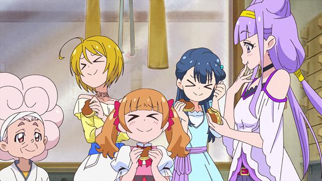 「『HUGっと!プリキュア』第29話ここで決めるよ!おばあちゃんの気合のレシピ!」(C)ABC-A・東映アニメーション