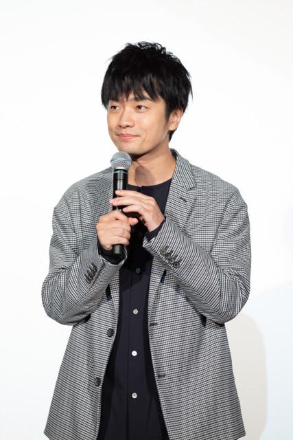 劇場版『フリクリ プログレ』完成披露上映会 福山潤(C)2018 Production I.G / 東宝