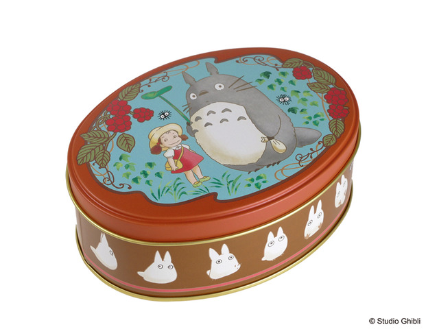 「となりのトトロ ルピシア茶葉缶 焙じ茶 大トトロとメイ」各1,800円(税別)(C) Studio Ghibli(C) 1989 Eiko Kadono - Studio Ghibli - N