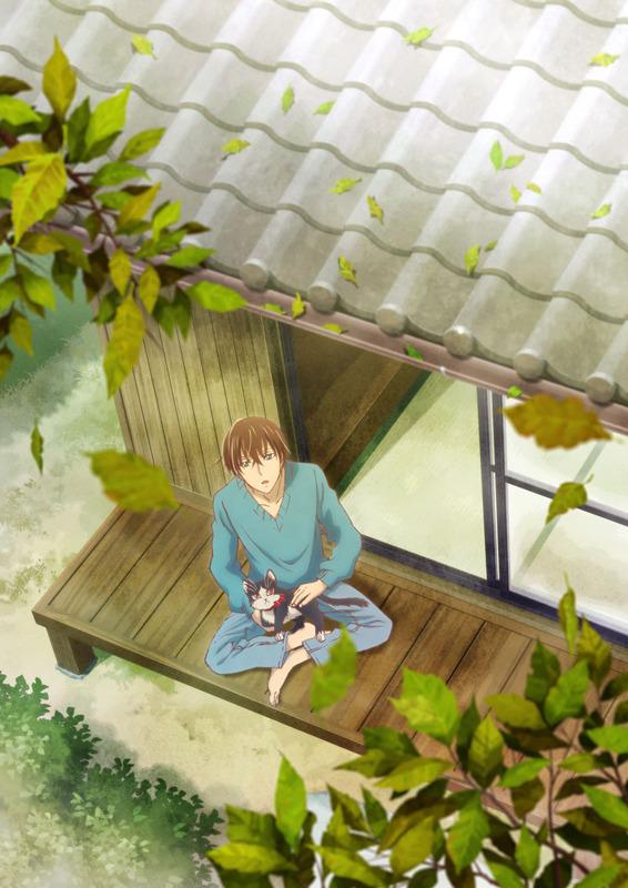 TVアニメ『同居人はひざ、時々、頭のうえ。』ティザービジュアル(C)みなつき・二ツ家あす・COMICポラリス/ひざうえ製作委員会