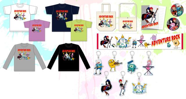 「アドベンチャー・タイム」×「難波章浩」コラボグッズ TM & (c) Cartoon Network. (s18) (c)AKIHIRO NAMBA