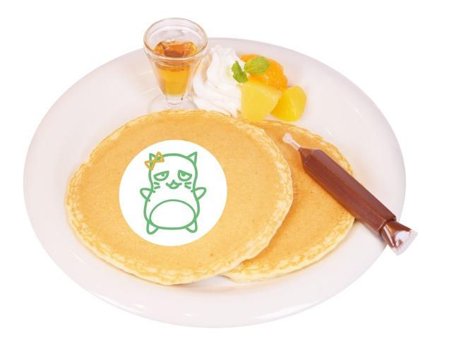 「お絵描きぴにゃこら太パンケーキ」1,200 円(C)BNEI/しんげき