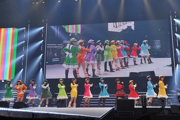 """『Animelo Summer Live 2018""""OK!""""Stand by...SELECTION!!!』ミルキィホームズ×i☆Ris×上坂すみれ×東山奈央(C)Animelo Summer Live 2018/MAGES./BSフジ"""