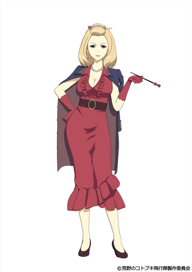 TVアニメ『荒野のコトブキ飛行隊』マダム・ルゥルゥ(C)荒野のコトブキ飛行隊製作委員会
