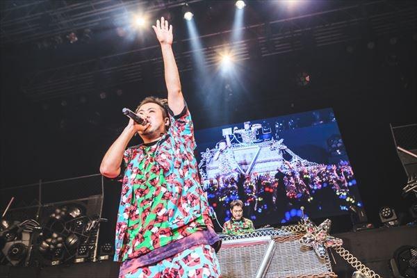 ヒプノシスマイク -Division Rap Battle- 3rd LIVE@オダイバ《韻踏闘技大會》サイプレス上野とロベルト吉野 撮影:粂井健太