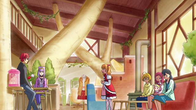 TVアニメ『HUGっと!プリキュア』第41話 先行場面カット(C)ABC-A・東映アニメーション