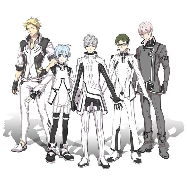 TVアニメ『Dimensionハイスクール』キャラクター(C)Dimensionハイスクール製作委員会