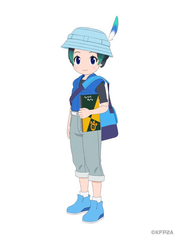 TVアニメ『けものフレンズ2』キュルル ビジュアル(C)KFP2A