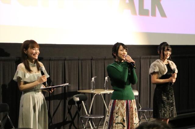 「女同士で語ろう ガンダムNT女子会トークショー」オフィシャルスチール(C)創通・サンライズ