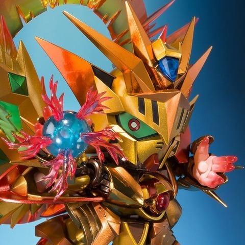 「SDX 太陽騎士ゴッドガンダム 明鏡止水ゴールドバージョン」12,960円(税込)(C)創通・サンライズ
