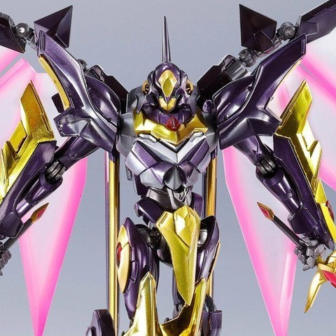 「METAL ROBOT魂 <SIDE KMF> ランスロット・アルビオン ゼロ」14,040円(税込)(C)SUNRISE/PROJECT L-GEASS Character Design (C)2006-2017 CLAMP・ST