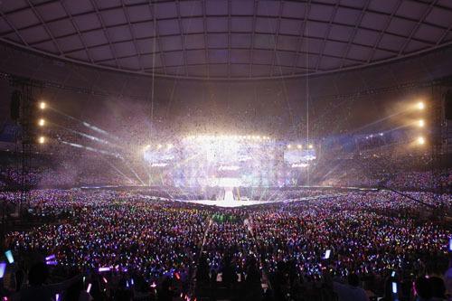 「アイドリッシュセブン 1st LIVE『Road To Infinity』」会場の様子(C) BNOI/アイナナ製作委員会