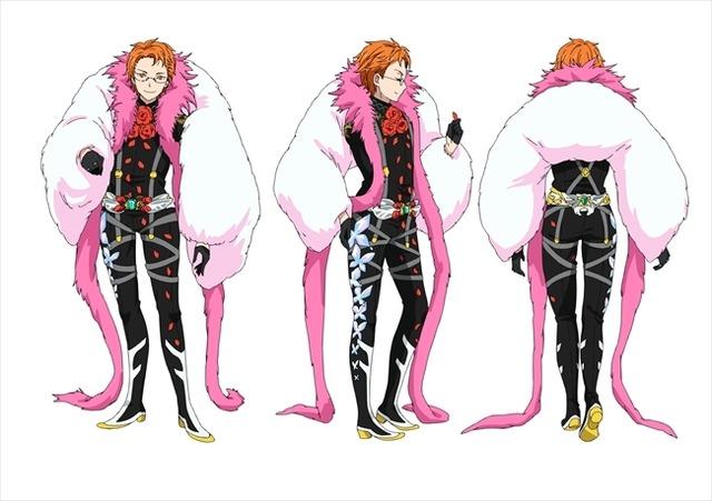 『KING OF PRISM -Shiny Seven Stars-』十王院カケル ステージ衣装 (C)T-ARTS / syn Sophia / エイベックス・ピクチャーズ / タツノコプロ / キングオブプリズムSSS製作委員会