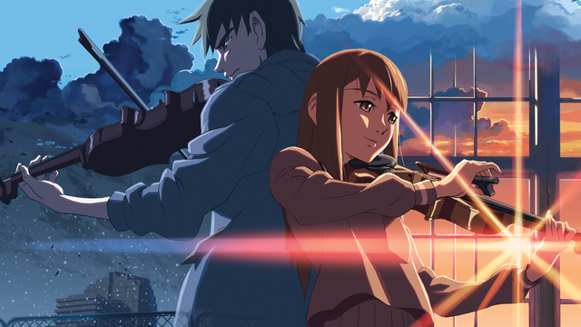 『雲のむこう、約束の場所』(c)Makoto Shinkai / CoMix Wave Films