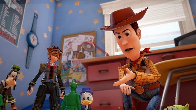 『キングダムハーツIII』(C)Disney. (C)Disney/Pixar. Developed by SQUARE ENIX