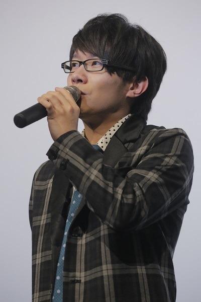 「『ユーリ!!! on ICE』TVシリーズ一挙劇場上映 舞台挨拶 勝生勇利役 豊永利行」(C)はせつ町民会/ユーリ!!! on ICE 製作委員会