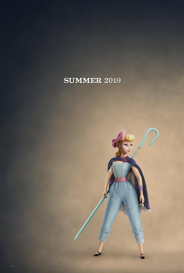 ボー・ピープ/映画『トイ・ストーリー4』(C)2019 Disney/Pixar. All Rights Reserved.