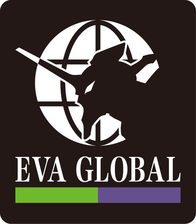 「EVA GLOBAL」ロゴ(C)カラー