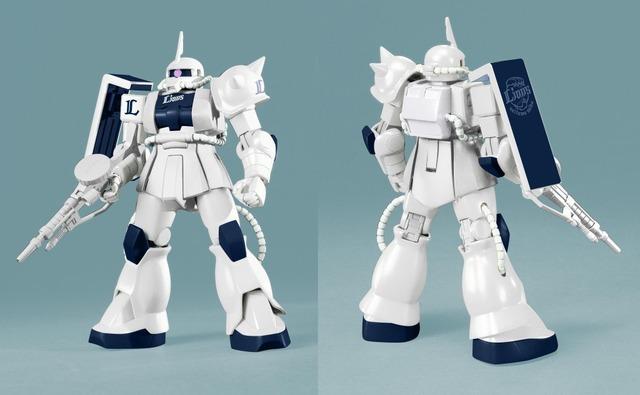 「HG 1/144 MS-06S ザクII(ライオンズバージョン)」(C)創通・サンライズ