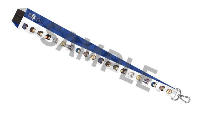 『Fate/Grand Order』Fate/Grand Order ぷちサバ!ふぇいす ネックストラップ 1400円(C)TYPE-MOON / FGO PROJECT