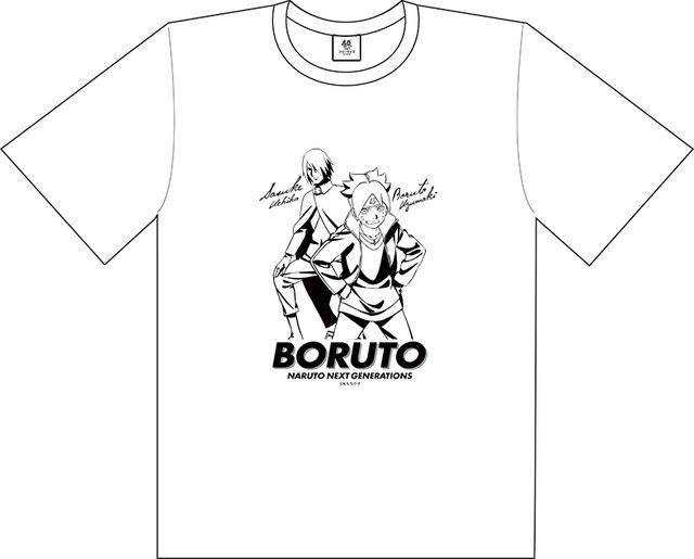 『BORUTO -ボルト- NARUTO NEXT GENERATIONS』Tシャツ [ボルト・サスケ] 2800円