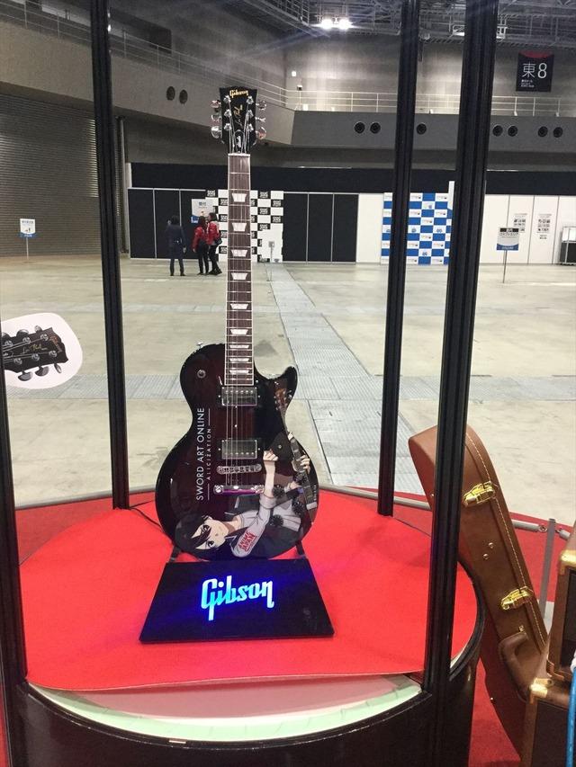 Saoキリトモデルの限定ギターがチャリティーオークションに