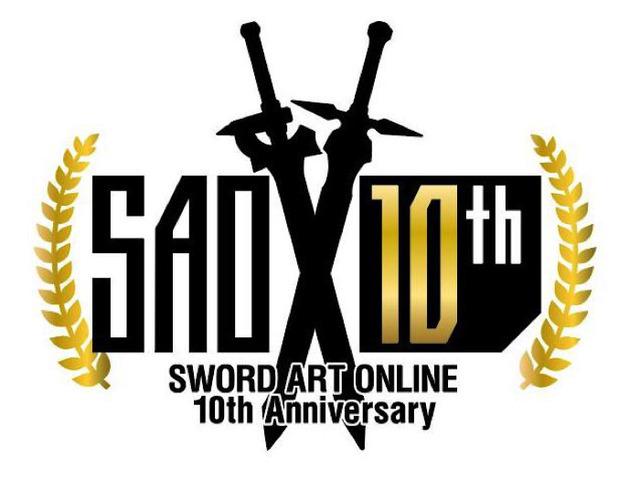 『ソードアート・オンライン』10周年記念ロゴ