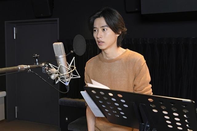 『二ノ国』山崎賢人アフレコシーン(C)2019 映画「二ノ国」製作委員会