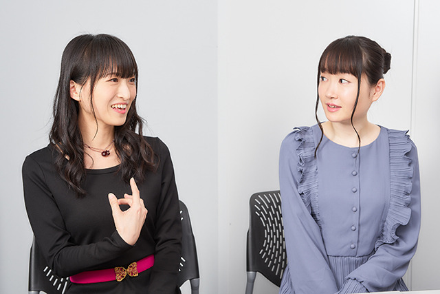 藤田咲さん、長縄まりあさん
