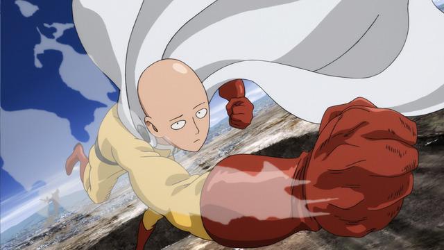 Netflix4月配信の最新作品『ワンパンマン 第2シーズン』(C)ONE・村田雄介/集英社・ヒーロー協会本部