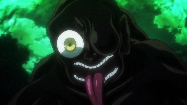 「『ゲゲゲの鬼太郎』第54話先行場面カット」(C)水木プロ・フジテレビ・東映アニメーション