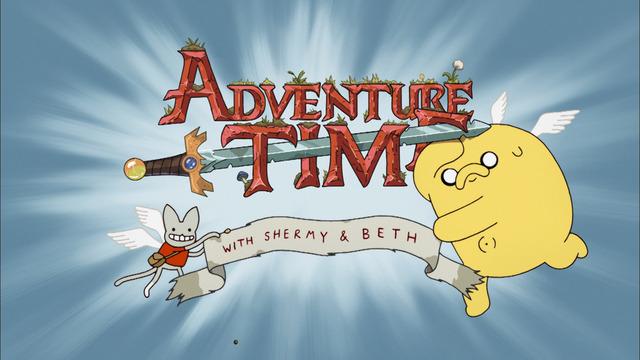 『アドベンチャー・タイム』シャーミー(左)とベス(右)TM &(C)2019 Cartoon Network.