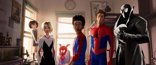 『スパイダーマン:スパイダーバース』場面写真(C)2018 Sony Pictures Animation Inc. All Rights Reserved. | MARVEL and all related character names: (C)& TM 2019 MARVEL.