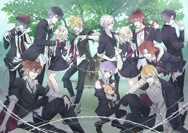『DIABOLIK LOVERS MORE,BLOOD』(C)Rejet・IDEA FACTORY/DIABOLIK LOVERS PROJECT