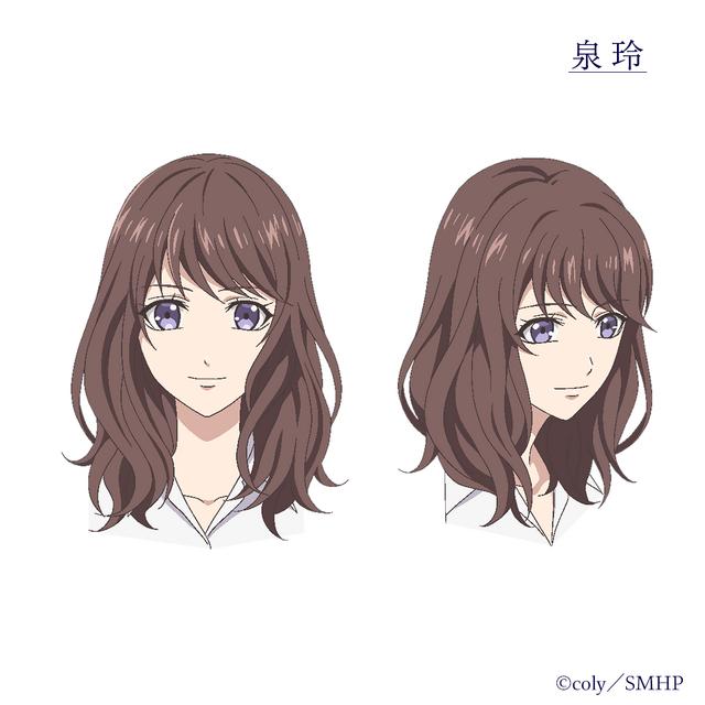 TVアニメ『スタンドマイヒーローズ PIECE OF TRUTH』泉玲(C)coly/SMHP
