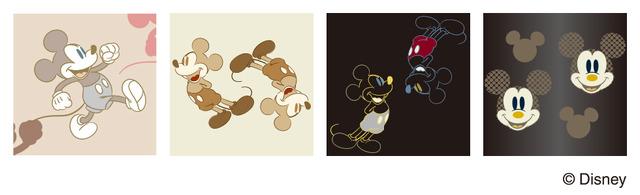 「Zoff SMART Disney Model」パターン ミッキーマウス 各9,000円(税別・標準レンズ代込み) (C)Disney