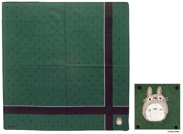 「となりのトトロ スマートハンカチ ドット」1,200円(税別)(C)Studio Ghibli