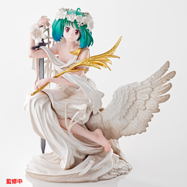 A賞:The Super Dimension White Venus ランカ・リー フィギュア(全1種)1回5,909円(税抜)(C)2007 BIGWEST/MACROSS F PROJECT・MBS