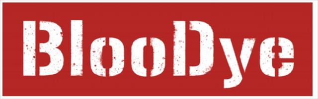 「BlooDye」ロゴ