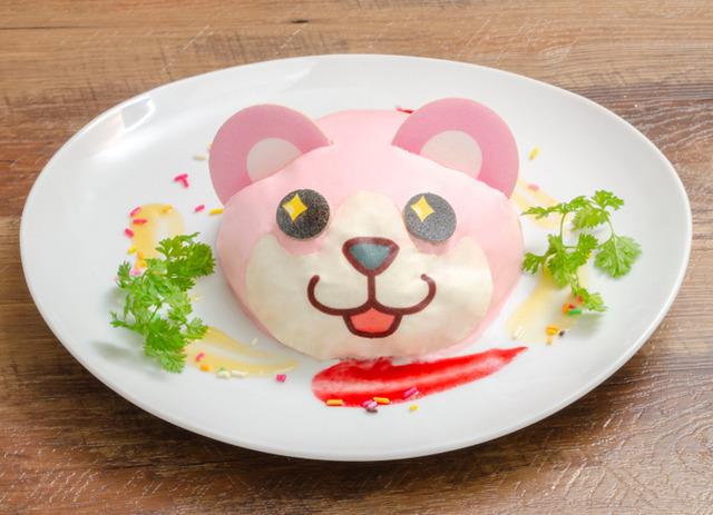 「バンドリ! ガールズバンドパーティ!カフェ 2019」ミッシェルのズゴットケーキ 1,480 円(税別)(C)BanG Dream! Project (C)Craft Egg Inc. (C)bushiroad All Rights Reserved.