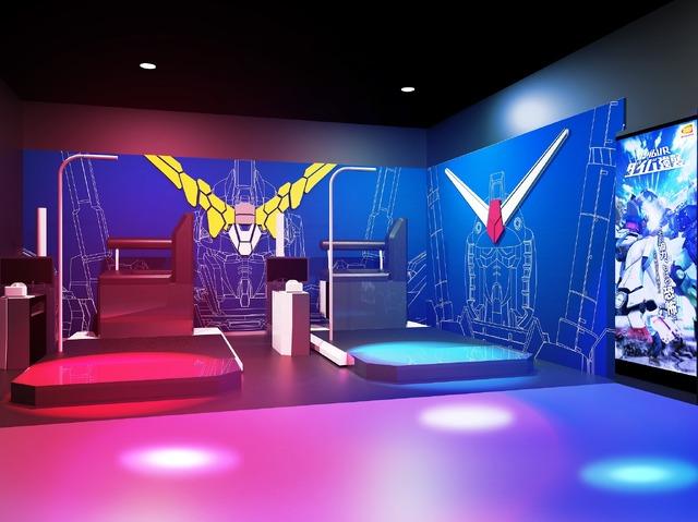 「MAZARIA」(C)BANDAI NAMCO Amusement Inc.(C)BANDAI NAMCO Entertainment Inc.(C)創通・サンライズ