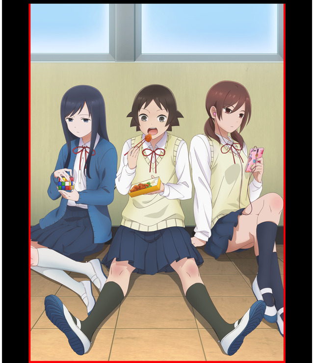 TVアニメ『女子高生の無駄づかい』(C)ビーノ/KADOKAWA/女子高生の無駄づかい製作委員会