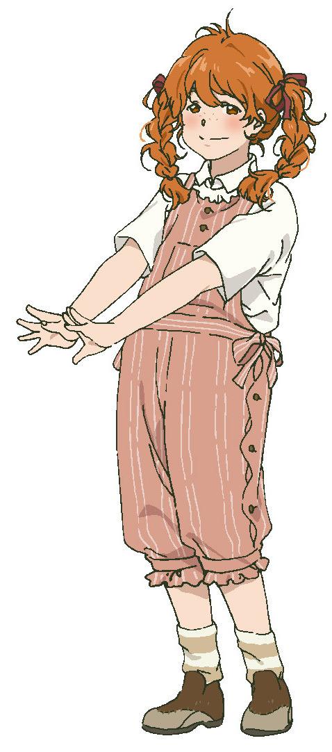 映画『ヴァイオレット・エヴァーガーデン 外伝 - 永遠と自動手記人形 -』テイラー設定画(C)暁佳奈・京都アニメーション/ヴァイオレット・エヴァーガーデン製作委員会
