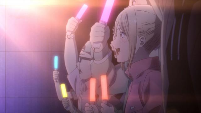 TVアニメ『推しが武道館いってくれたら死ぬ』PVカット(C)平尾アウリ・徳間書店/推し武道製作委員会