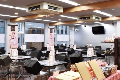 「『種村有菜原画展~20th Anniversary~』×アニメイトカフェ」アニメイトカフェ池袋(C)種村有菜/集英社