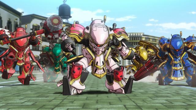 『新サクラ大戦 the Animation』場面カット(C)SEGA/SAKURA PROJECT