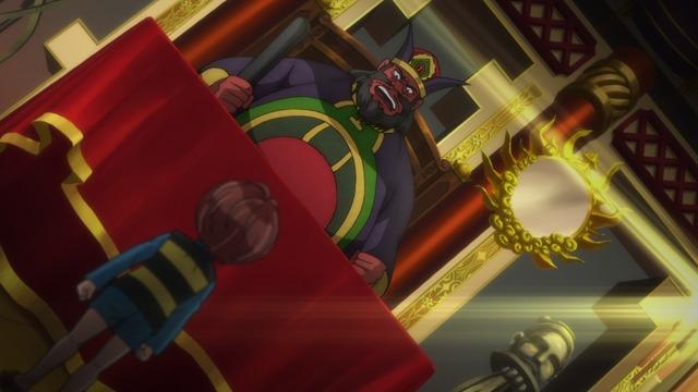 「『ゲゲゲの鬼太郎』第74話先行場面カット」(C)水木プロ・フジテレビ・東映アニメーション